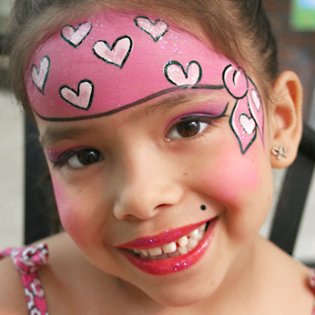 pictures orange county face painting birthday parties. Black Bedroom Furniture Sets. Home Design Ideas